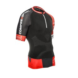 Maillot de compression home trail running shirt V2 Compressport