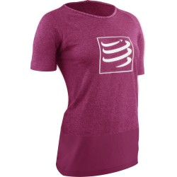 T - shirt d'entraînement femme training t shirt Compressport