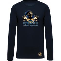 T shirt manches longues Knights de Dax