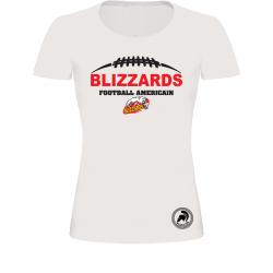 T shirt manches courtes femme Blizzards de Freyming Merlebach