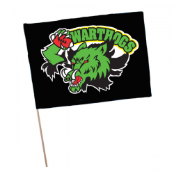 Drapeau supporter Warthogs de Wuenheim
