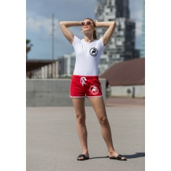 Short de sport femme G-Skinni fit woman retro short