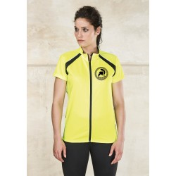 G-Tech woman cyclist jersey