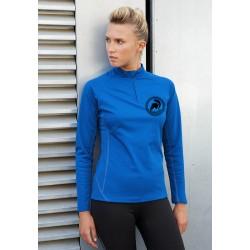 Sweat-shirt de sport femme G-Tech 1/4 zip long sleeve woman sweat shirt