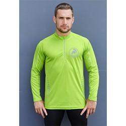 T-shirt de sport homme manches longues G-Tech 1/4 zip long sleeve t shirt