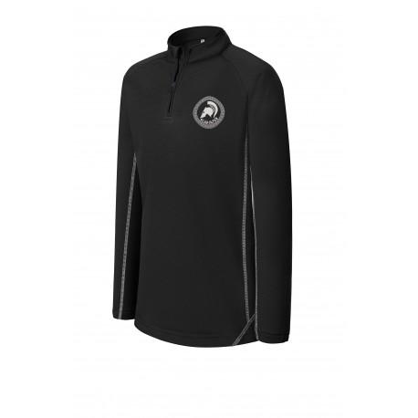G-Tech 1/4 zip long sleeve child sweat shirt