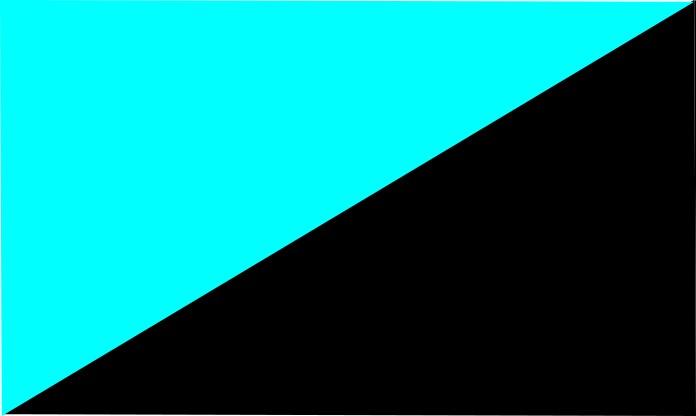 sky blue-black