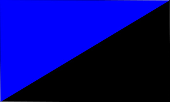 royal blue-black