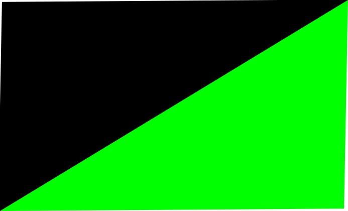 black-neon green