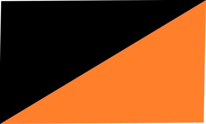 black-neon orange