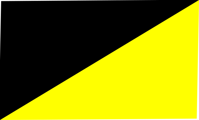 black - fluo yellow
