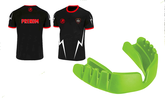 PACK MAILLOT + SNAP FIT NEON GREEN
