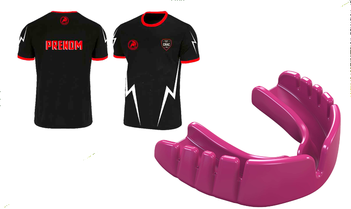 PACK MAILLOT + SNAP FIT HOT PINK