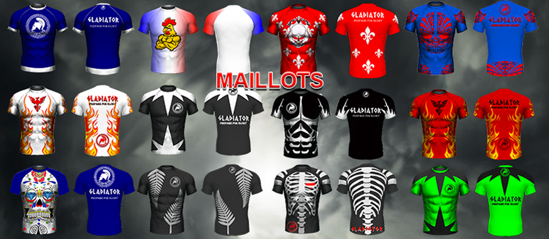 nos maillots exclusifs